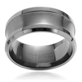 Territory Men's Titanium Dual Finish Band (10mm)