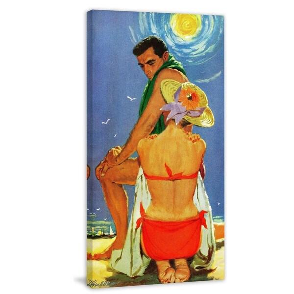 "Marmont Hill - ""The Eighteenth Bachelor"" by Lynn Buckham Painting Print on Canvas"