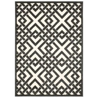 Nourison Ultima Ivory Grey Rug (7'9 x 10'10)