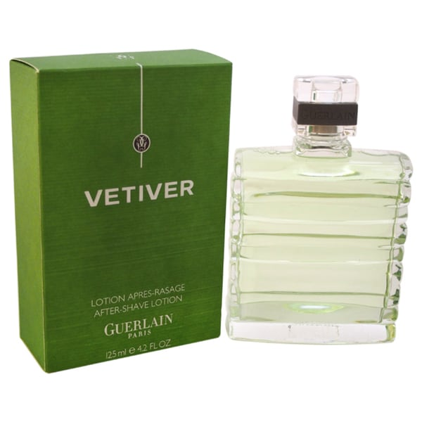 Guerlain Vetiver Guerlain 4.2-ounce After Shave Lotion