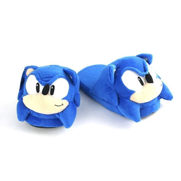 Sonic The Hedgehog Adult Slippers
