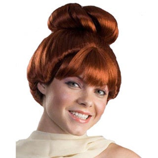 Red Auburn Cave Girl Wig