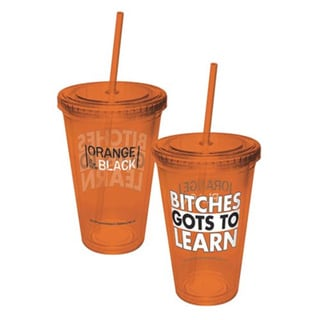 Orange Is The New Black Bitches Gots To Learn 16-ounce Travel Cup