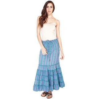 Floral Printed Boho Skirt (India)