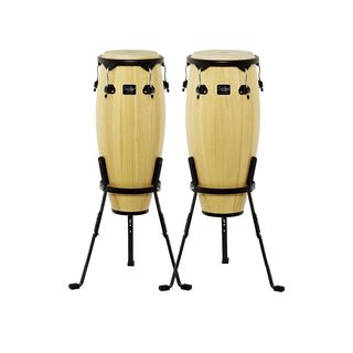 Schalloch Percussion 50NT-SET2 Natural Wood Conga Set