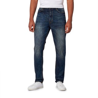 Men's Woozy Stainer Wash Comfort Fit Jeans