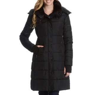 S13/NYC Women's Bowery Quilted Hooded Coat