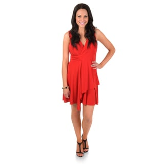 Timeless Comfort by Journee Sleeveless V-neck Dress