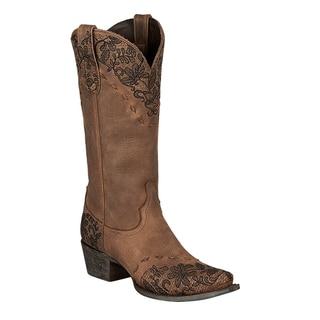 "Lane Boots ""Jeni Lace"" Women's Leather Cowboy Boot"