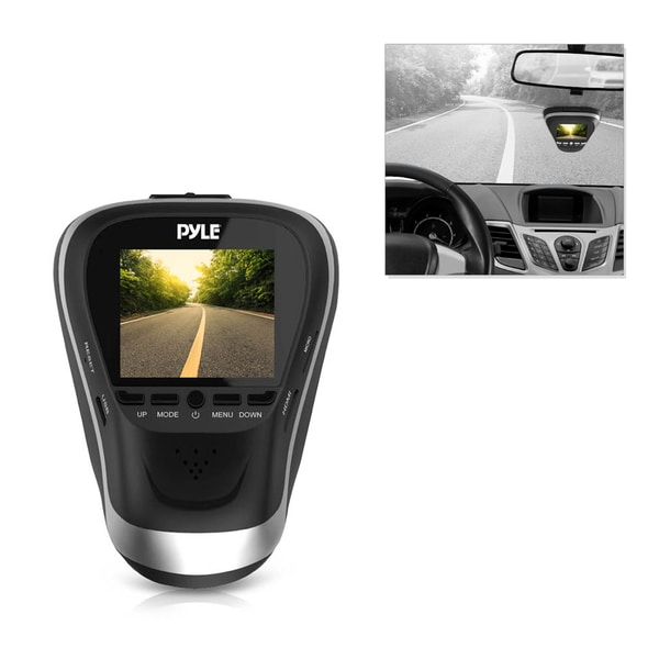 Pyle PLDVRCAM25 1080p HD Dash Camera with Impact/ Parking Monitor