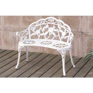 Hirnyk Floral Outdoor Bench