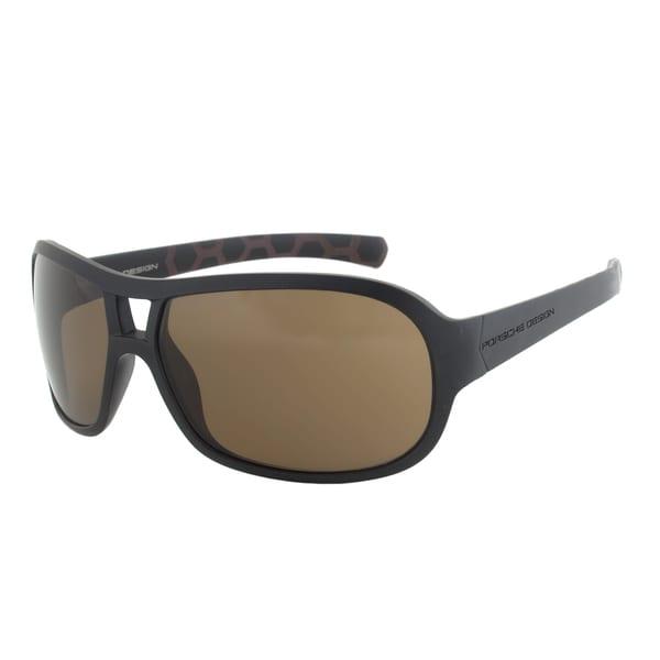 Porsche Design P8537 A Sport Sunglasses - Matte Black Frame