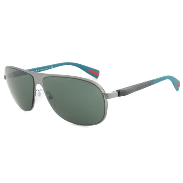 PRADA SPORT SPS560 75S-301 SUNGLASSES - BRUSHED GUNMETAL GREY FRAME