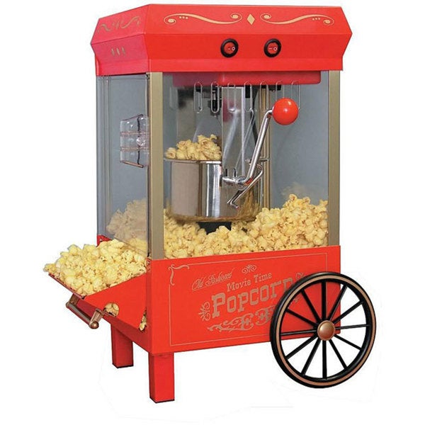 Nostalgia Electrics Vintage Kettle Popcorn Maker
