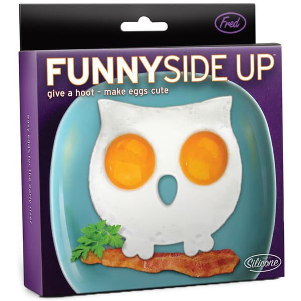 Fred & Friends Funny Side Up Owl Egg Frame