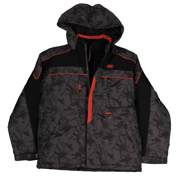 Skechers Boys' Systems Hooded Jacket