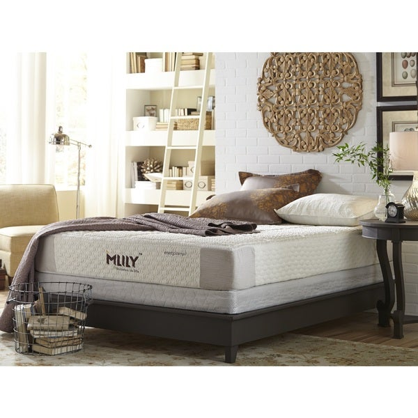 Mlily Energize 10-inch California King-size Gel Memory Foam Mattress