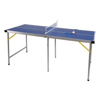 Lion Sports 5' Folding Portable Table Tennis Ping Pong Table