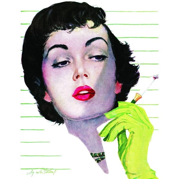 "Marmont Hill - ""The Brazen Widow"" by Coby Whitmore Painting Print on Canvas"