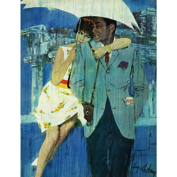 "Marmont Hill - ""Love Comes to Miss Lucas"" by Coby Whitmore Painting Print on Canvas"