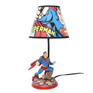 Superman Resin Statue Lamp