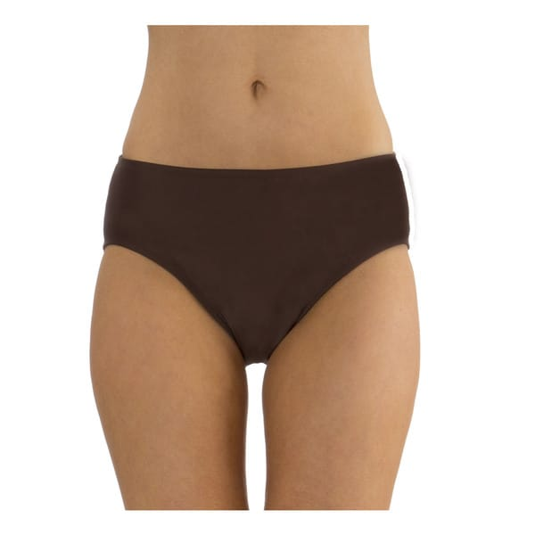 Mazu Swim Brown Mid Waist Swimsuit Brief