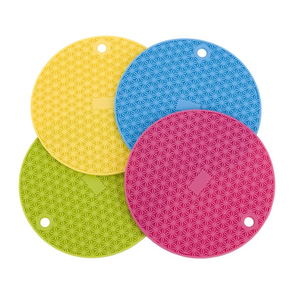 Miu France Silicone Trivet/ Pot Holders (Set of 4) 16108880
