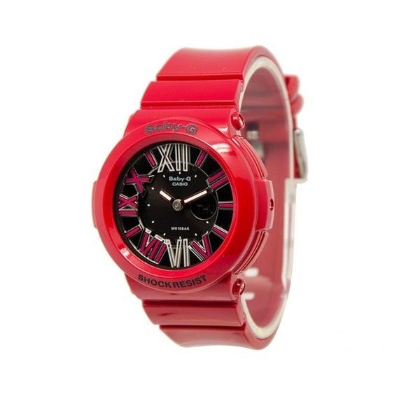 Casio Men's BGA160-4B Baby-G Black Watch