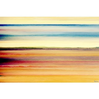 "Parvez Taj - ""Desert Colors"" Print on Canvas"