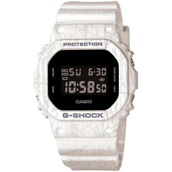 Casio Men's DW5600SL-7 G-Shock White Watch