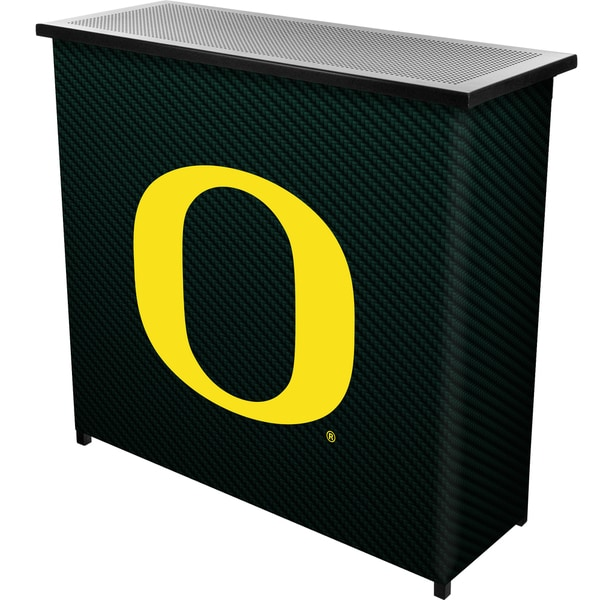 University of Oregon Portable Bar with Case - Carbon Fiber