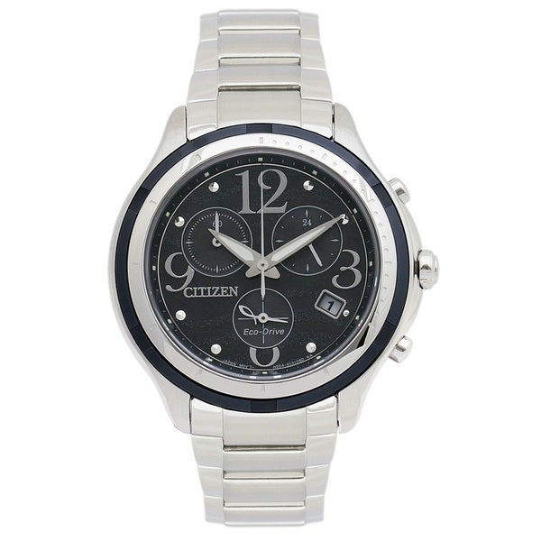 Citizen Women's FB1376-54E 'Eco-Drive' Chronograph Stainless Steel Watch