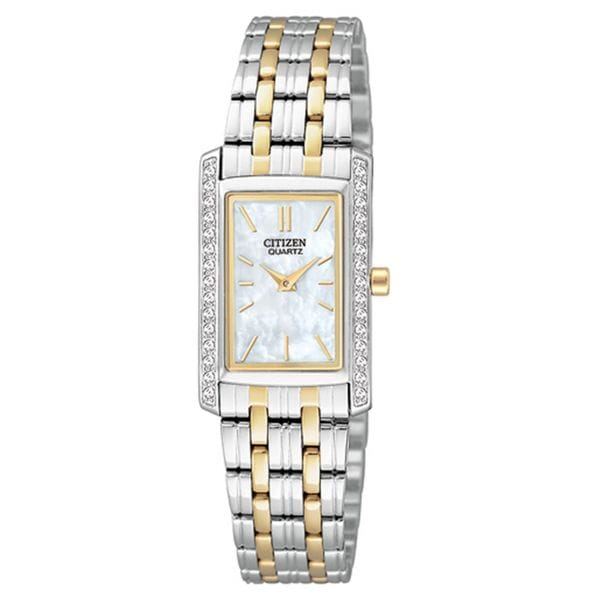Citizen Women's EK1124-54D Crystal Two-Tone Stainless Steel Watch