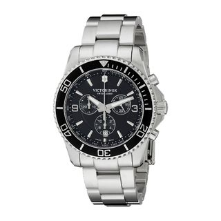 Victorinox Swiss Army Men's 241695 'Maverick' Chronograph Stainless Steel Watch