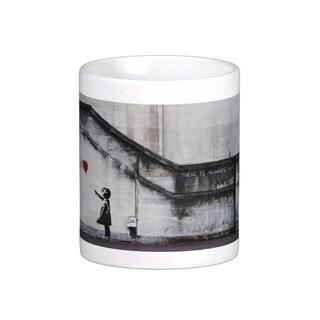 'There Is Always Hope' London Banksy Art Coffee Mug