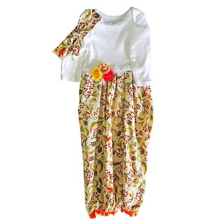 Baby Girl Thanksgiving Layette Gown