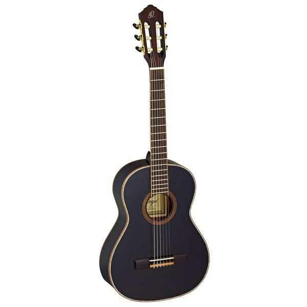 Ortega Guitars R221BK 3/4-size Family Series Nylon 6-string Guitar