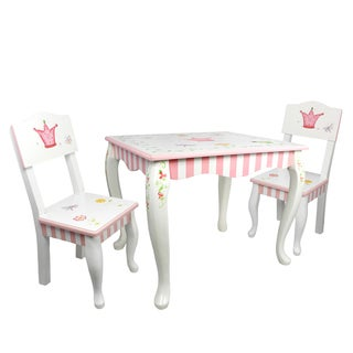 Fantasy Fields Princess and Frog 3-piece Kid's Table Set