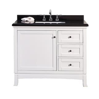 OVE Decors Sophia 42-inch Single Sink Bathroom Vanity with Granite Top