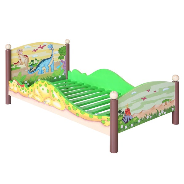 Fantasy Fields Dinosaur Kingdom Toddler Bed