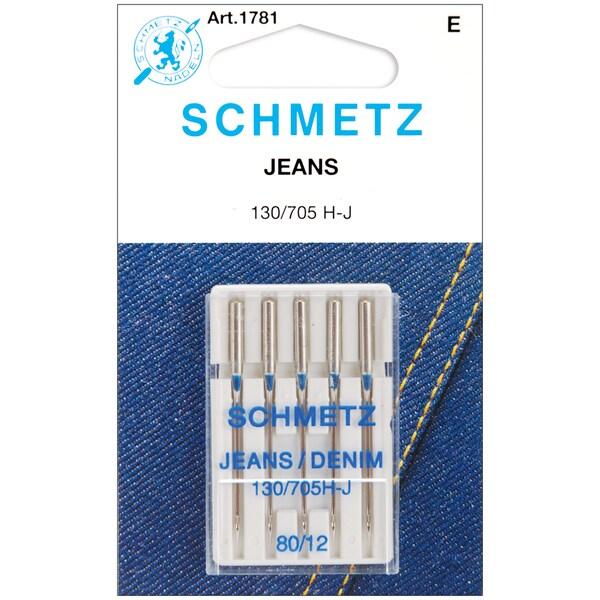 Jean & Denim Machine NeedlesSize 12/80 5/Pkg