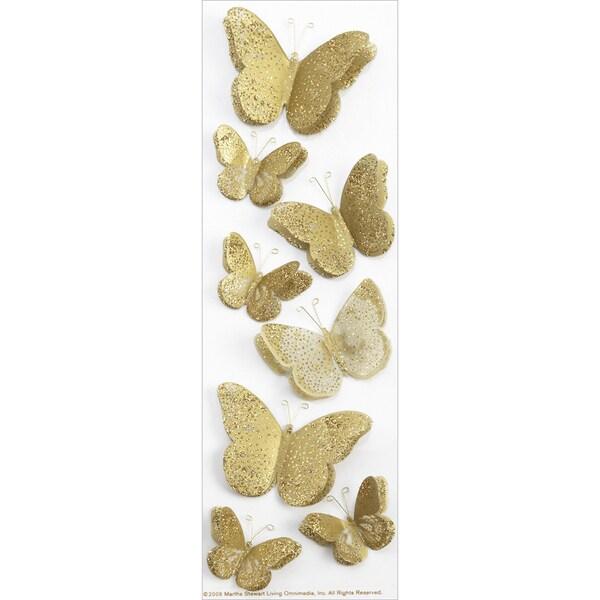 Martha Stewart StickersGolden Butterflies