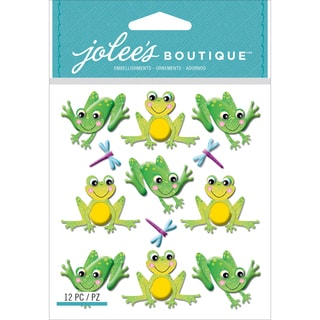 Jolee's Boutique Dimensional StickersCutesy Frogs