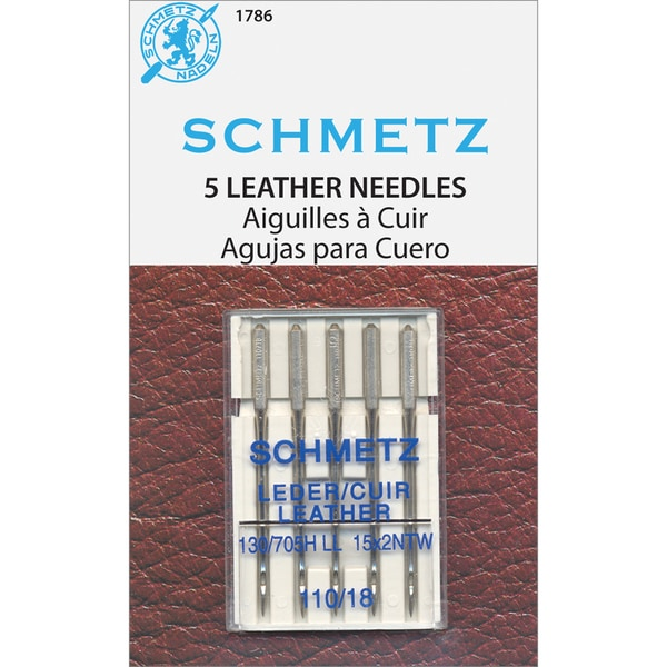 Leather Machine NeedlesSize 18/110 5/Pkg
