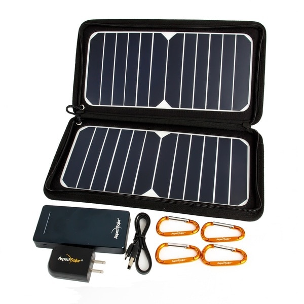 DUO Flex2 Pro 13 Watt Solar Panel with Power Bank Battery