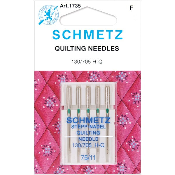 Quilt Machine NeedlesSize 11/75 5/Pkg