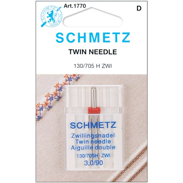 Twin Machine NeedleSize 3.0/90 1/Pkg