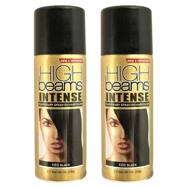 High Beams Intense Temporary Spray-on Black 2.7-ounce Hair Color (Pack of 2)