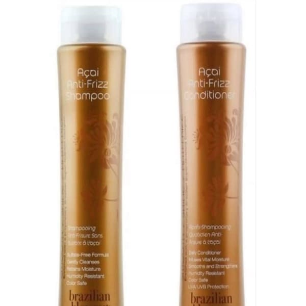 Brazilian Blowout Anti-Frizz 12-ounce Shampoo & Conditioner