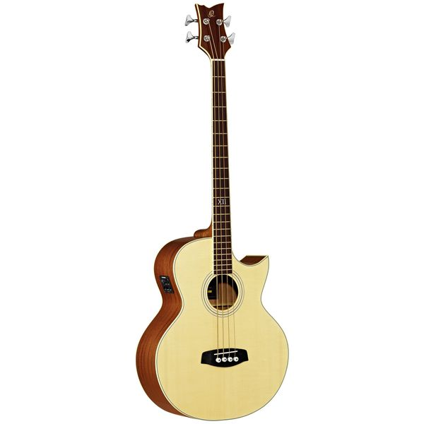 Ortega Guitars D1-4 Deep Series One 4-string Mahogany Gloss Acoustic Bass